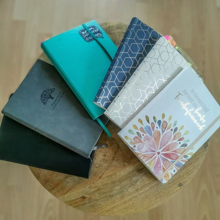 Notizbücher fürs Journaling